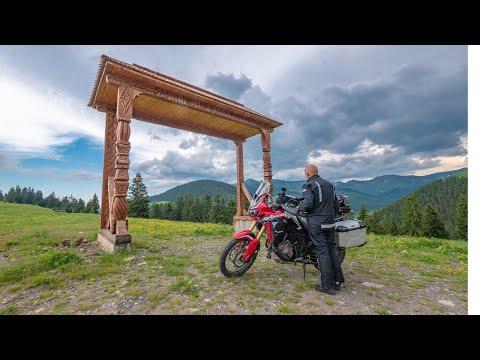 Film | Motorradreise Rumänien | Den Karpatenbogen entlang | Romania with Motorcycle