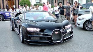 $3Million Arab BUGATTI CHIRON SHUTS DOWN Monaco Casino Square!
