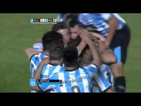 San Lorenzo 2 - Racing Club 1 /Promiedos