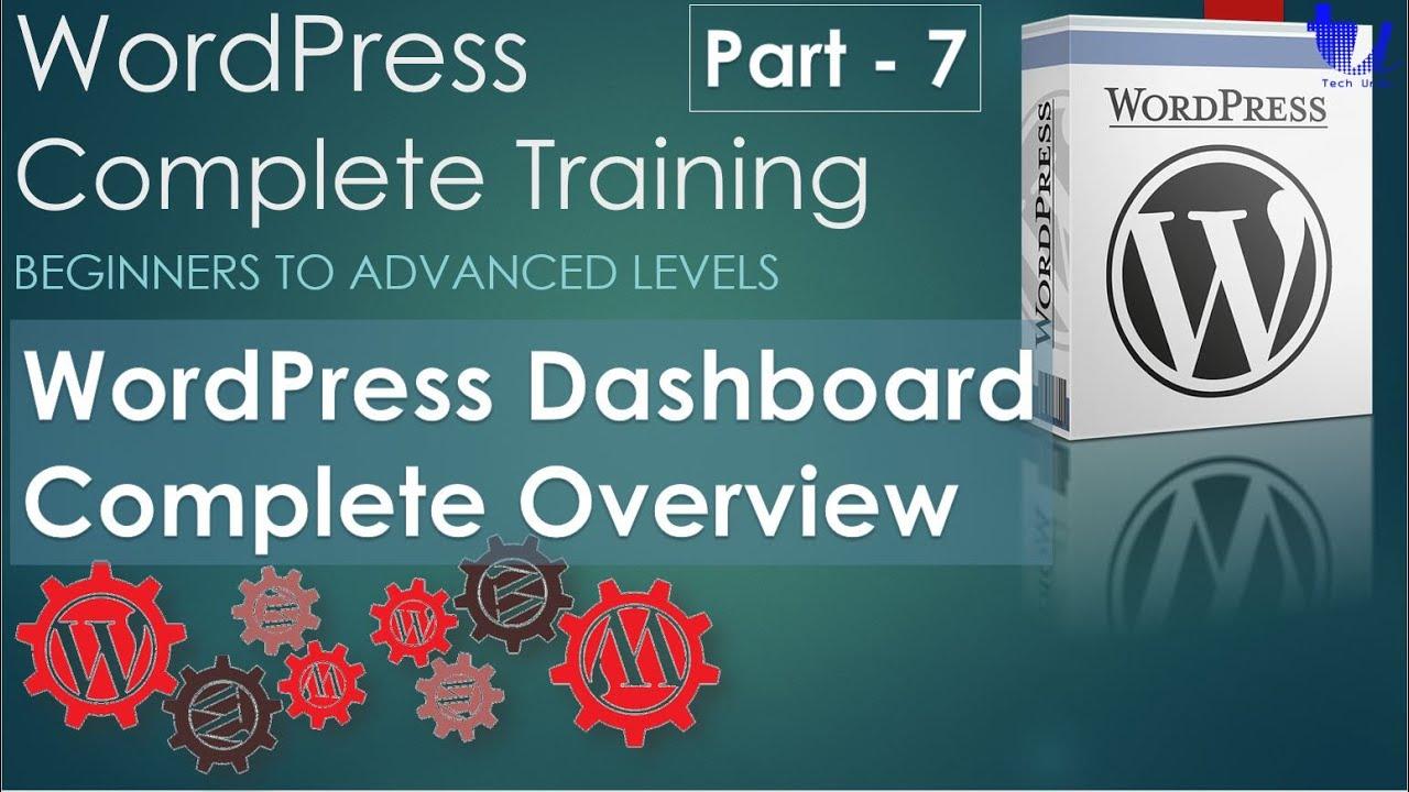 Download WordPress Complete Training | Part 7 - WordPress Dashboard Overview [Urdu/Hindi]