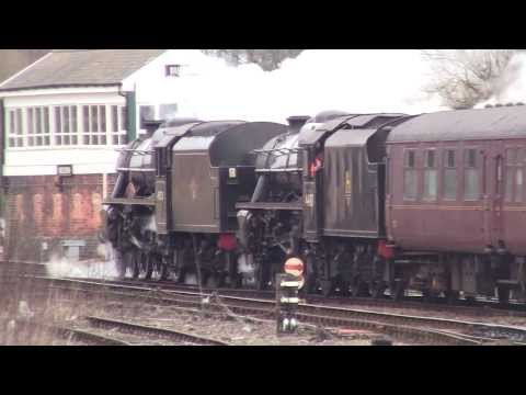 Buxton Railway Station - featuring LMS 5MT 44871 and 45231