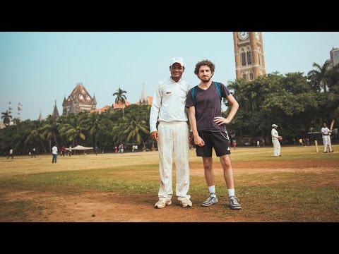 PARTIE DE CRICKET A MUMBAI
