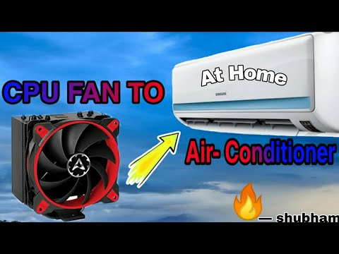 How To Make Air-Conditioner At Home By Using CPU Fans || DIY 2019 || 🔥🔥🔥