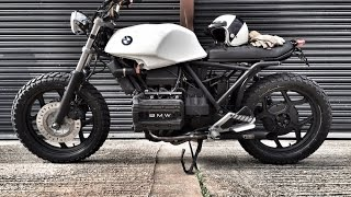 BMW K75 SCRAMBLER BRAT BIKE