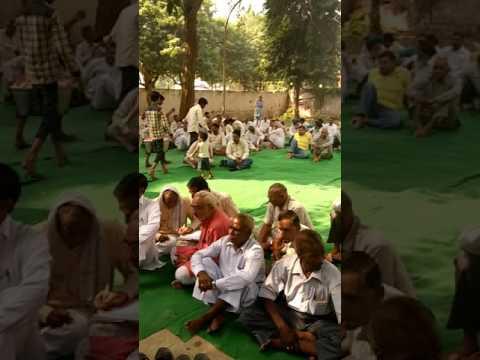 नोतना जी ने उठाई आवाज़,हमारी कालोनी वैद करो आज,जय श्री राम।