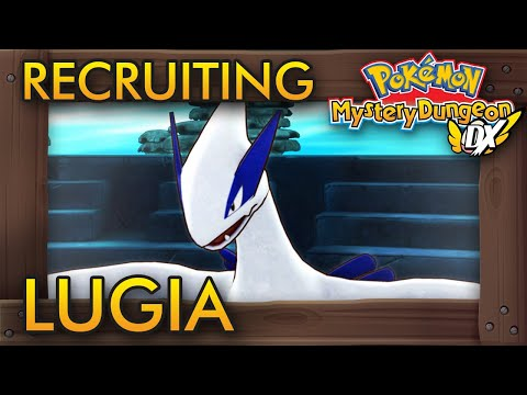 Pokémon Mystery Dungeon: Rescue Team DX - Recruiting Lugia (Silver Trench Walkthrough)