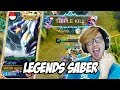 Skin Legends Saber Akhir Nya Punya  - Mobile Legends Indonesia