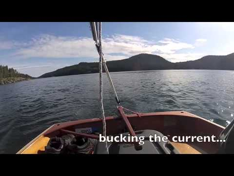 PT11 and PT Spear dinghy sailing in light winds
