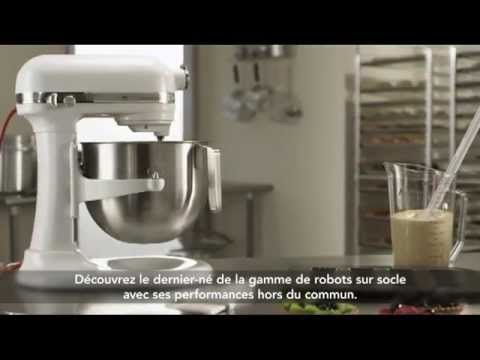 Kitchenaid robot artisan 6 9l cuisine plaisir youtube for Cuisine plaisir