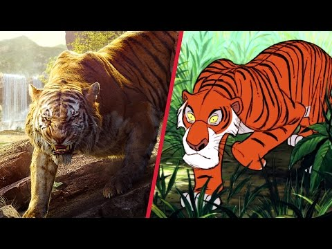 The Jungle Book Trailer Gets Animated | Oh My Disney