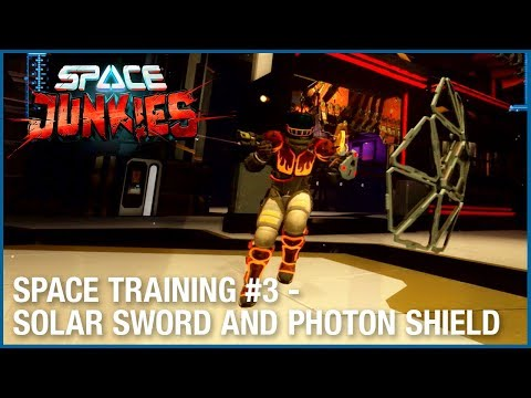 Space Junkies : Space Training #3 – Solar Sword and Photon Shield  Ubisoft NA