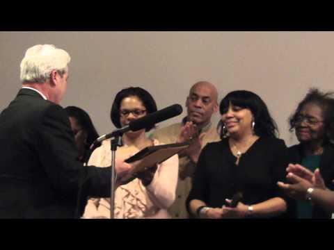 Frank Osborne honored in Morristown