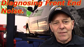 Diagnosing Front End Noise & Replace Sway Bar Links Honda CRV