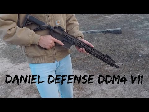 NEW Daniel Defense DDM4 V11 | Shooting with the Roommates