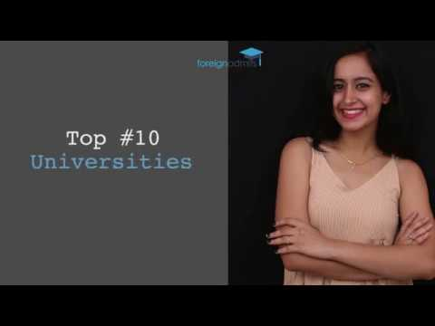 Top 10 Universities for Global Impact [ForeignAdmits]