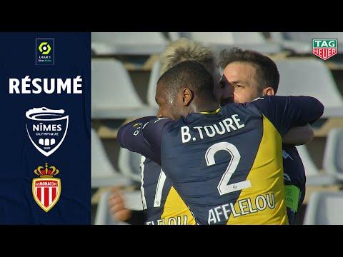 Nimes Monaco Goals And Highlights