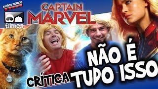 🎬 Capitã Marvel NÃO É TUDO ISSO - Irmãos Piologo Filmes