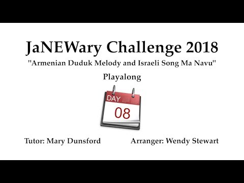 JaNEWary Challenge Day 8 - Playalong and Support