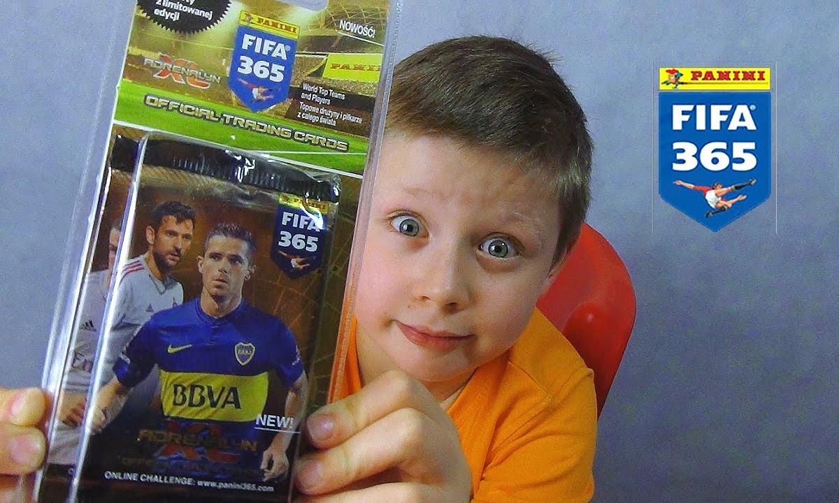 680e15ec4 PANINI FIFA 365 BLISTER karty LEWANDOWSKI ! - YouTube