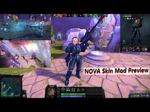 [DOTA2] Nova Mod for Sniper on Dota2 7 02