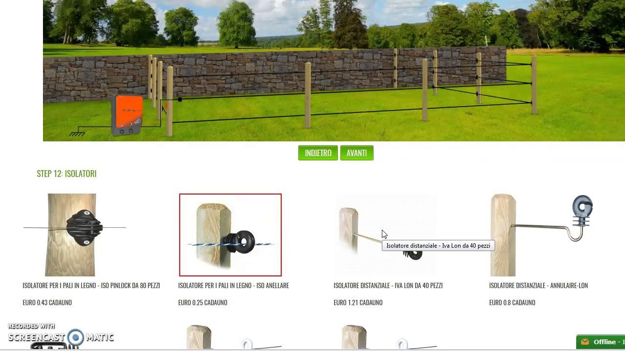 Recinzione elettrica per ovini configuratore gratuito for Recinzione elettrica per cavalli