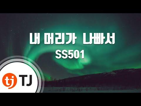 [TJ노래방] 내머리가나빠서 - SS501 (Because I'm Stupid) / TJ Karaoke