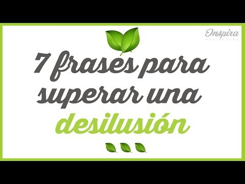 7 Frases Para Superar Una Desilusión Youtube