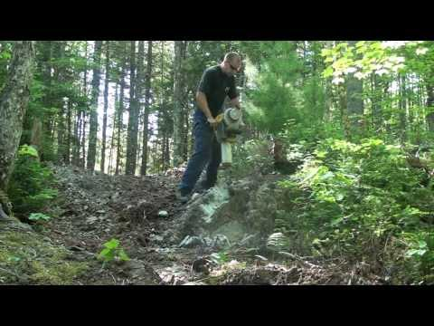 Gas Powered Jackhammer (trail building)