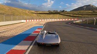 Gran Turismo Sport - Chevrolet Corvette StingRay Racer Concept '59 Gameplay [4K PS4 Pro]
