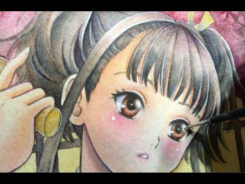 ムッチリ大人な無名ちゃんになりました;;; 再生リスト playlist -Original art / waka_My Watercolor painting ...