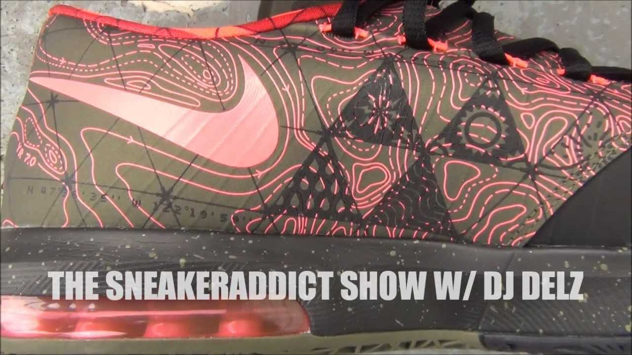 nike kd 6 vi meteorology update shoe review on feet w