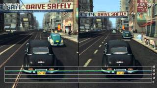 L.A. Noire 360 vs PS3 Frame Rate Gameplay Comparison HD
