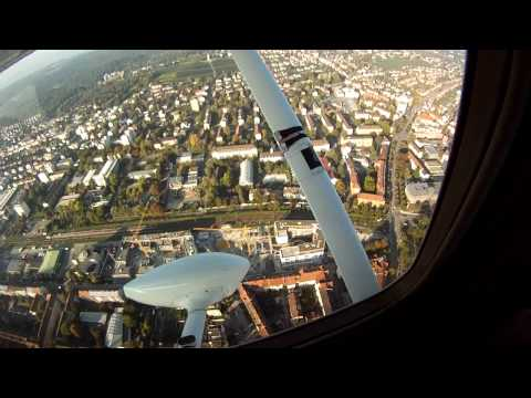 Flying From Speyer EDRY To Konstanz EDTZ And Back