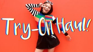 TRY-ON HAUL - STYLENANDA + UNIF | Steal The Spotlight