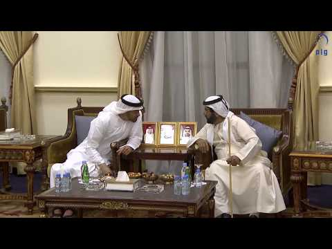 محمد بن زايد يحضر مأدبة إفطار طحنون بن محمد