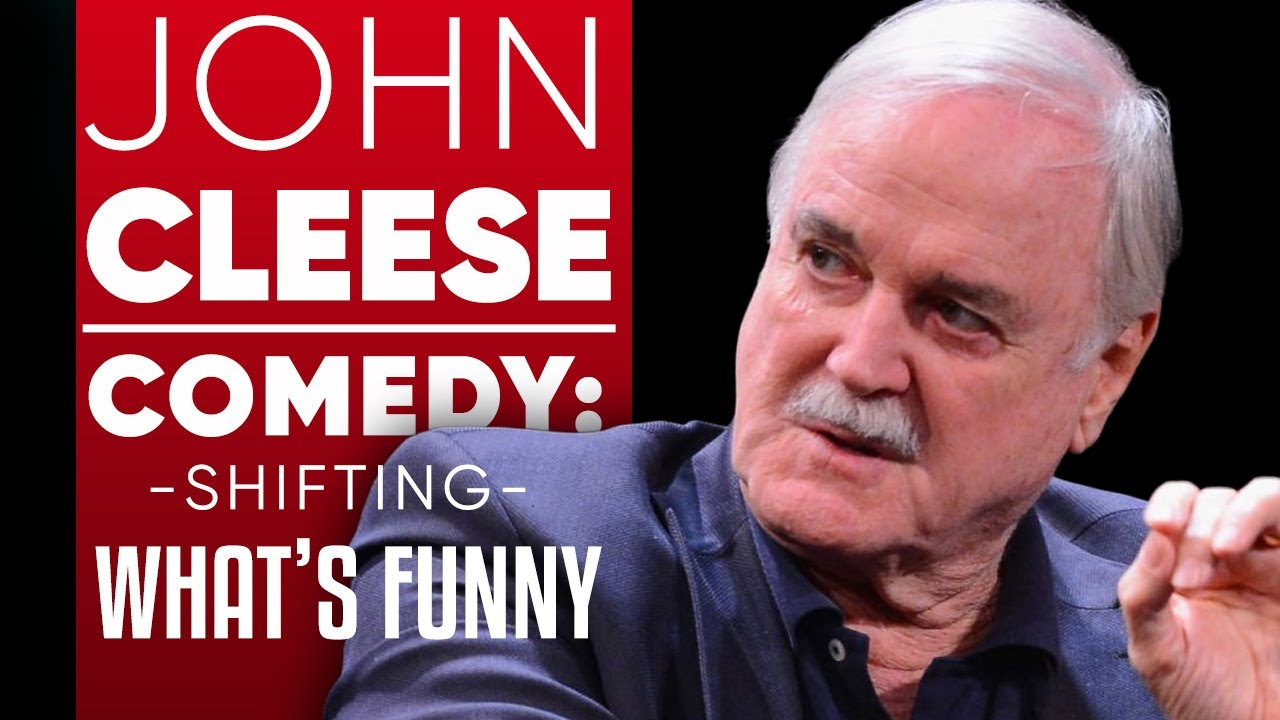"JOHN CLEESE - CREATIVITY: HOW MODERN CULTURE HAS STIFLED COMEDY AND SHIFTED WHAT IS ""FUNNY"""