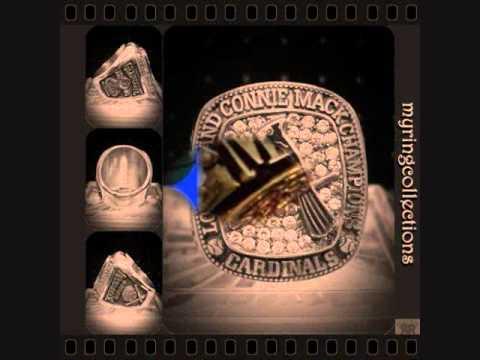 CUSTOMIZED CHAMPIONSHIP RING