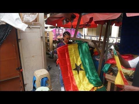 Travel Vlog | Exploring ACCRA GHANA 2018 | Makola Market, Kwame Nkrumah, Labadi beach.