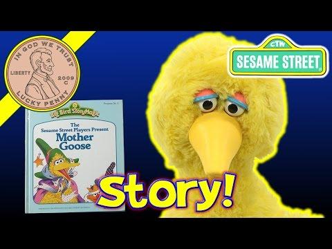 Big Bird Story Magic - Talking Animated Sesame Street Story Book Toy