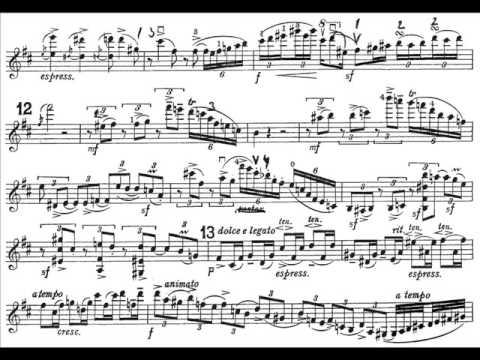Elgar, Edward mvt1(begin) violin concerto Allegro