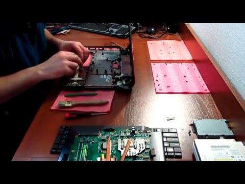 Asus N53 - замена привода на SSD с помощью Caddy - Драбер Сервис 2016
