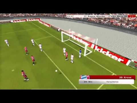 Topleague Online Fussball Manager Fc Bayern München Vs Fsv Mainz 05