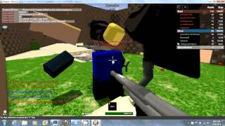 Jogo aleatório: Paintball Roblox! (Episódio 3)