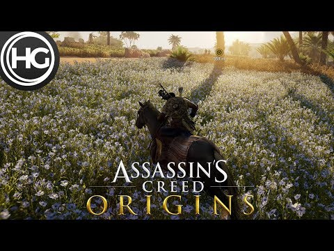 The World of Assassin's Creed Origins in 4K (Xbox One X)