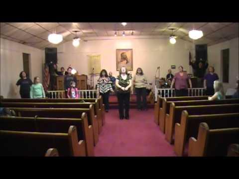 Big Sandy House of Worship with Bro  Jerry Coburn Jan 31,  2016