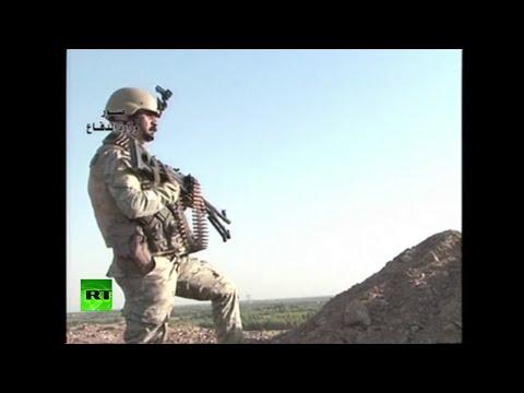 Zona de guerra: Irak combate al EI con metralletas y lanzacohetes