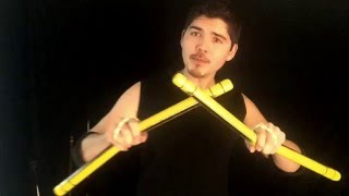 Double Nunchaku Basics : Learn the 3-beat Weave