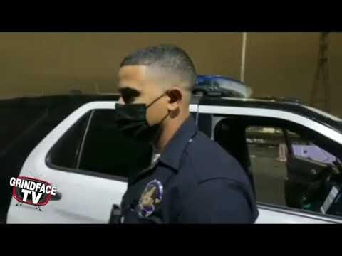 LAPD vs MEDIA ? ( #GrindFaceTV )