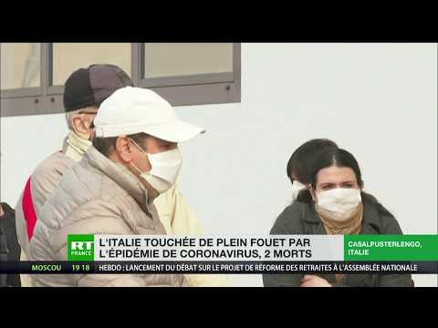 L'Italie touchée de plein fouet par l'épidémie de Coronavirus