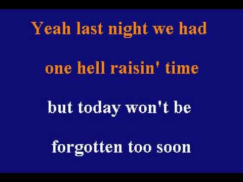 Merle Haggard - It's Been A Great Afternoon - Karaoke